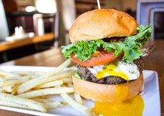 Baja Burger at Plan B Burger Bar in Washington, D.C.