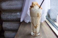 Banana Fosters Milkshake in BOE in Washington, D.C. (closed)