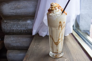Banana Fosters Milkshake in BOE in Washington, D.C. (closed)