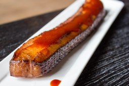 BBQ Glazed Bacon Steak at Black Barn in New York City