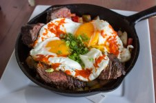 Hanger Steak Hash at The Guild in Los Angeles, CA