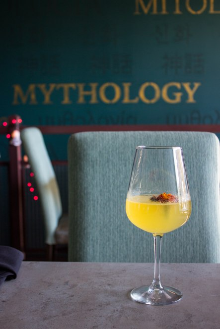 Mimosa at Mythology in Washington, D.C.
