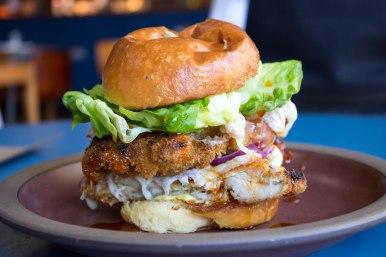 Fried Chicken Breakfast Sandwich from SpartinaLA in Los Angeles, CA