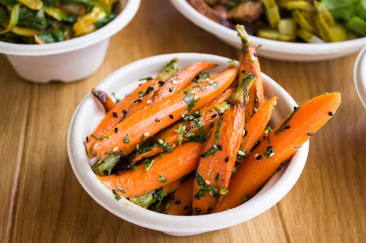 Carrots at BacoShop in Culver City, CA