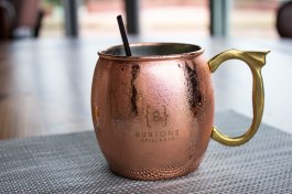Moscow Mule at Burtons Grill in Alexandria, VA